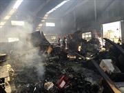 Dập tắt vụ cháy lớn tại cụm công nghiệp Ngọc Hồi, Hà Nội