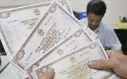 Huy động 11.000 tỷ đồng qua đấu thầu trái phiếu Chính phủ