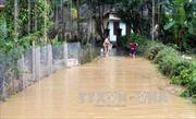 Mưa lớn gây chia cắt, ngập sâu tại Quảng Ngãi