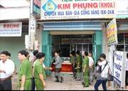Khen thưởng các đơn vị phá án nhanh vụ cướp tiệm vàng Kim Phụng