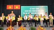 Bà Rịa-Vũng Tàu truy tặng danh hiệu Mẹ Việt Nam Anh hùng