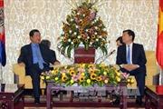 Hoạt động của Thủ tướng Campuchia Hun Sen tại Thành phố Hồ Chí Minh