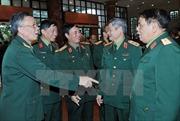 Gặp mặt tướng lĩnh, sỹ quan quân đội đã nghỉ hưu