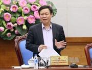 Phó thủ tướng Vương Đình Huệ: Cần có kịch bản điều hành giá cho từng mặt hàng