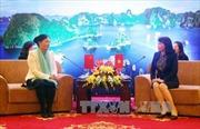Góp phần tăng cường tình hữu nghị giữa phụ nữ và nhân dân Việt Nam-Trung Quốc