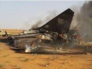 Rơi máy bay quân sự ở Libya