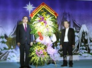 Đồng chí Nguyễn Thiện Nhân chúc mừng đồng bào Công giáo nhân dịp Giáng sinh