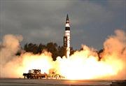 Ấn Độ thử tên lửa liên lục địa Agni-V