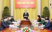 Chủ tịch nước Trần Đại Quang chủ trì Phiên họp Hội đồng Quốc phòng và An ninh