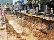 Lần thứ ba vỡ đường ống nước tại Châu Thành, Tiền Giang
