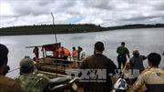 Vẫn chưa tìm thấy 3 người mất tích vụ lật thuyền ở Đắk Nông