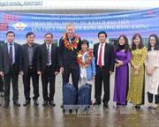 Đón 190 khách quốc tế đến Huế bằng đường hàng không
