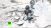 Xem công binh Nga trổ tài phá bom ở Syria