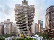 """Ấn tượng tòa nhà """"ăn"""" khí CO2"""