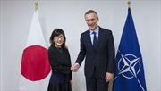 Bộ trưởng Quốc phòng Nhật Bản thăm trụ sở NATO