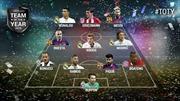 Real Madrid và Barcelona dẫn đầu Đội hình UEFA của năm