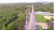Thái Lan mưa lũ, xe nối đuôi nhau dài 200km