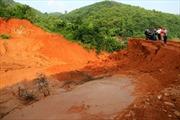 Khắc phục sự cố vỡ nắp chắn hồ chứa bùn thải tại Yên Bái