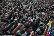 """Venezuela tổ chức diễn tập """"chống đế quốc"""""""