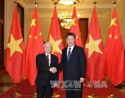 Lãnh đạo Đảng gửi Điện mừng Tổng Bí thư ĐCS Trung Quốc Tập Cận Bình