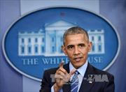 Tổng thống Obama cảnh báo ông Trump không nên xóa thỏa thuận hạt nhân với Iran