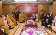 Trưởng ban Dân vận Trung ương Trương Thị Mai tiếp các đoàn chức sắc tôn giáo