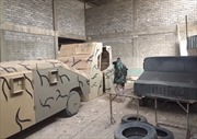 IS dựng xe quân sự giả bằng gỗ nhằm 'qua mặt' chiến đấu cơ