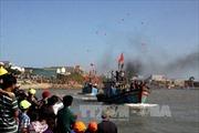 """Ngư dân Quảng Ngãi """"xông biển"""" đầu năm mới"""