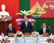 Thủ tướng thăm, chúc Tết Đinh Dậu 2017 tại tỉnh Quảng Ngãi