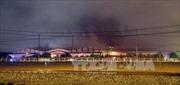 Khẩn trương khắc phục hậu quả vụ cháy tại Công ty ô tô Trường Hải