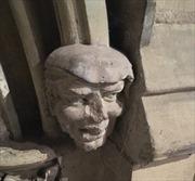 Cư dân mạng sốt sình sịch với 'tượng ông Trump' từ 700 năm trước