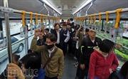 Ngày đầu thu vé buýt nhanh, xe đông kín chỗ