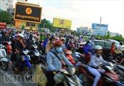 Giao thông TP Hồ Chí Minh ngột ngạt lại ngày đầu tuần sau Tết