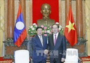 Dành ưu tiên cao thắt chặt quan hệ đặc biệt Việt - Lào