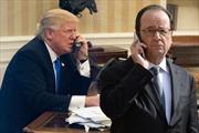 Ông Trump lại phạm 'lỗi ngoại giao' khi gọi điện cho Tổng thống Pháp