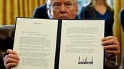 Bí ẩn đằng sau chữ ký 'dây thép gai' của tân Tổng thống Mỹ Donald Trump