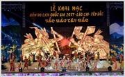Khai mạc Năm Du lịch quốc gia 2017 Lào Cai - Tây Bắc