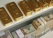 Đồng USD mạnh khiến giá vàng, dầu cùng giảm