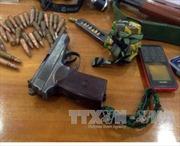 TP Hồ Chí Minh: Táo tợn dùng súng cướp 100 triệu đồng giữa ban ngày