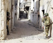 Quân chính phủ Syria tấn công dữ dội ngoại ô Damascus