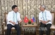 Phó Thủ tướng Phạm Bình Minh gặp Bộ trưởng Ngoại giao Philippines