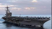 Mỹ sẽ đưa tàu sân bay Carl Vinson tới tập trận tại Hàn Quốc