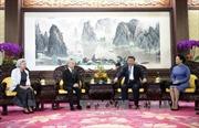 Chủ tịch Trung Quốc hội kiến Quốc vương Campuchia