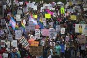 Phụ nữ nhiều nước tuần hành vì 'Một ngày không phụ nữ'