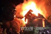 Cháy lớn trong buổi ra mắt phim 'Kong: Đảo đầu lâu'