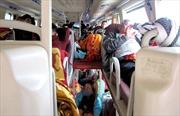 Xe khách chạy tuyến Nha Trang-Gia Lai bị 'tố' nhồi nhét khách