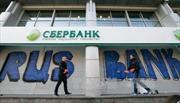Bị Ukraine trừng phạt, ngân hàng Nga có thể mất hàng trăm triệu USD