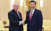 Chủ tịch Trung Quốc tiếp Ngoại trưởng Mỹ