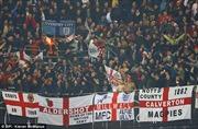 Cấm vĩnh viễn các CĐV Anh hát ca khúc phản đối Đức