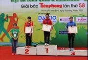 Bình Phước nhất toàn đoàn Giải Việt dã báo Tiền phong năm 2017